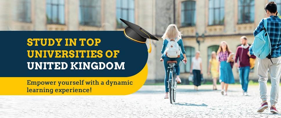 Shape Your Career in Top UK Universities